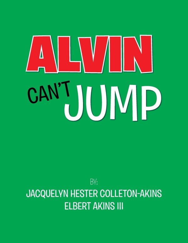 Alvin Can't Jump FRONT